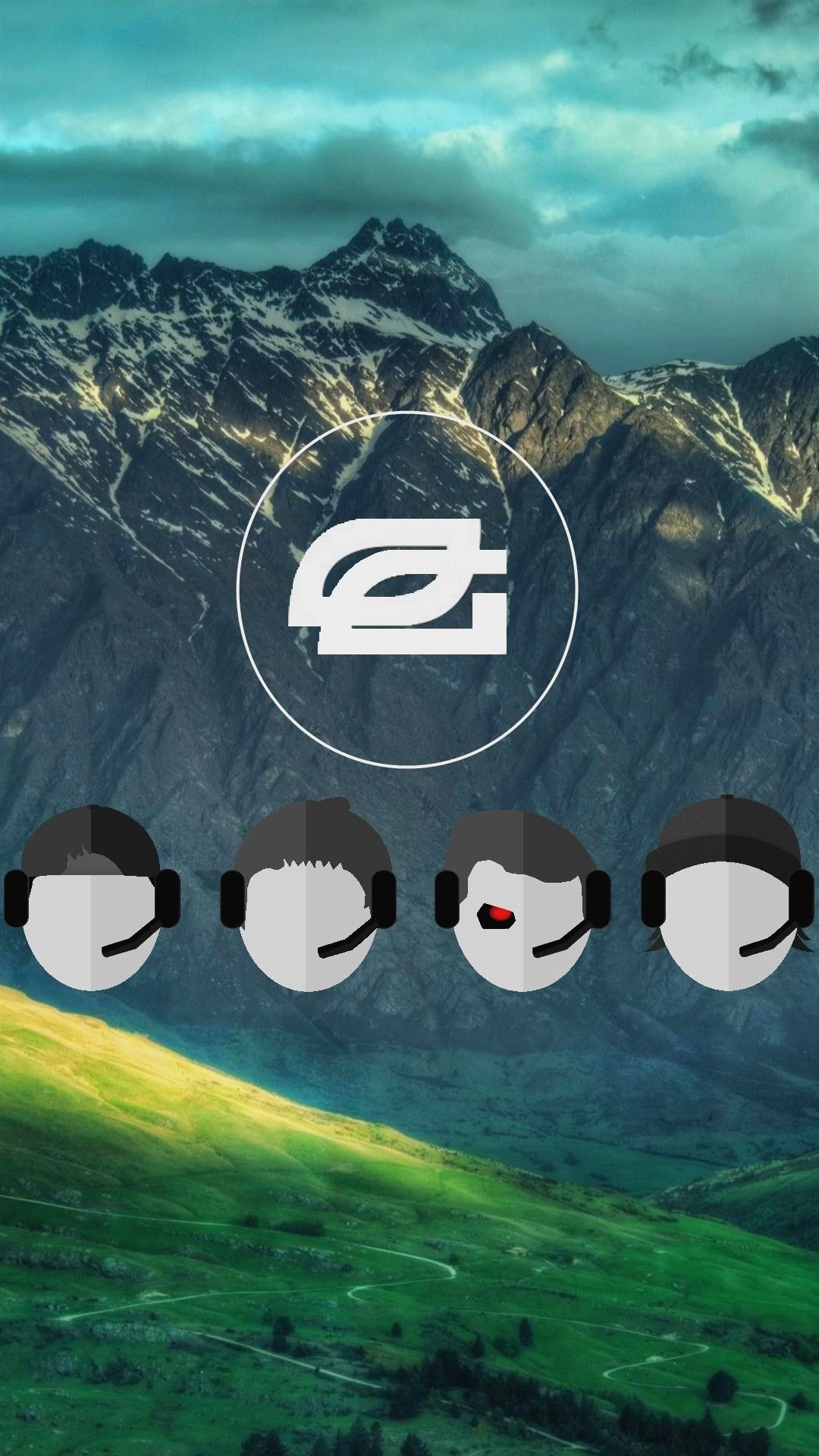Optic Gaming. Brand logo iPhone wallpapers. mobile9