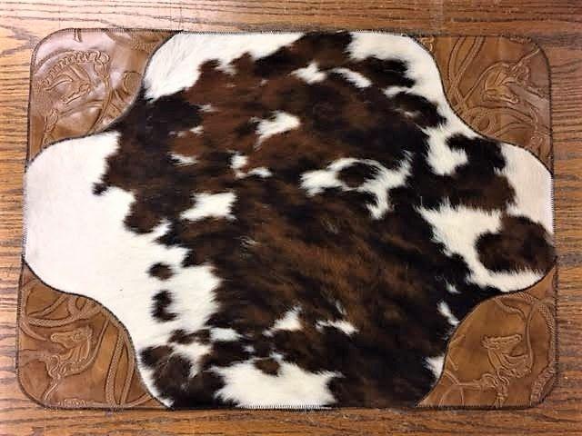 Leather 038 Cowhide Bathroom Rugs Bathroom Rugs Western Bath Decor Cowhide