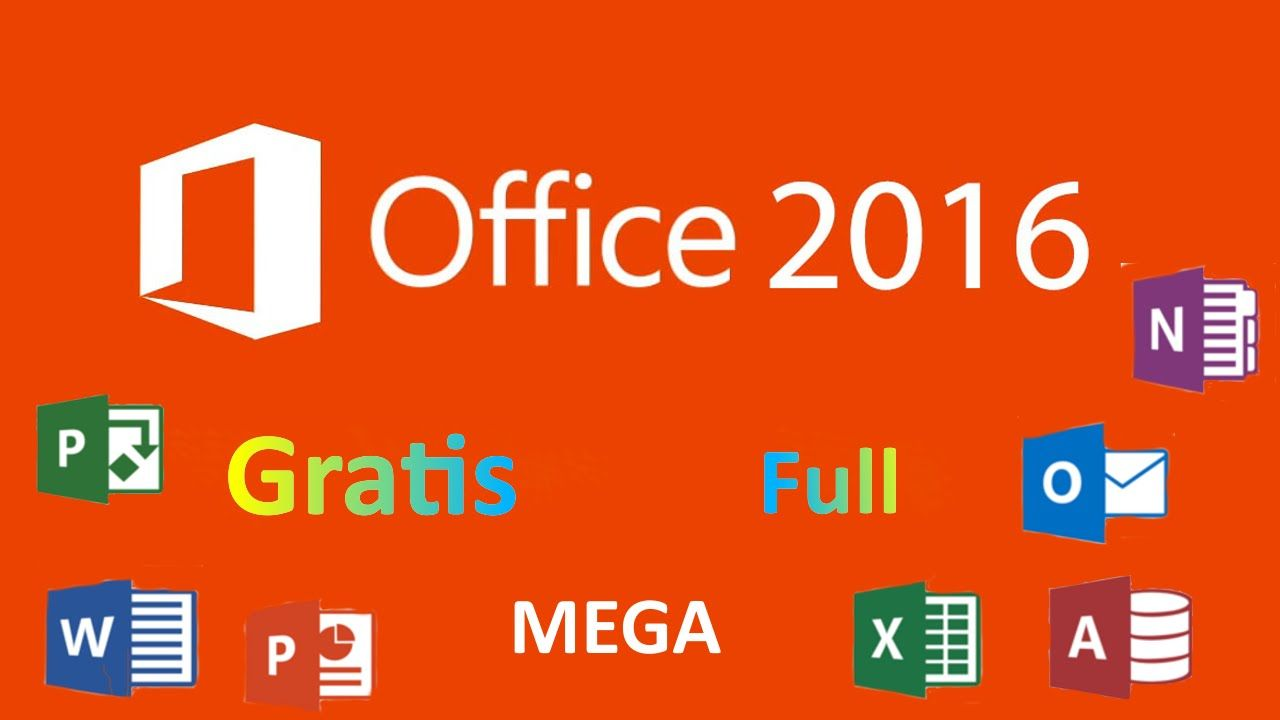descargar microsoft office 2016 mega gratis
