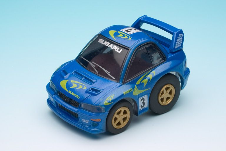 Subaru Wrc 97 World Rally Choro Q Subaru Wrc Subaru Toy Car