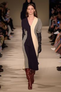 Victoria Beckham RTW Fall 2017 Love this shaping, and mix.