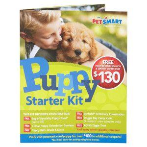 Petsmart New Puppy Starter Kit Petsmart Petsmart Pinterest