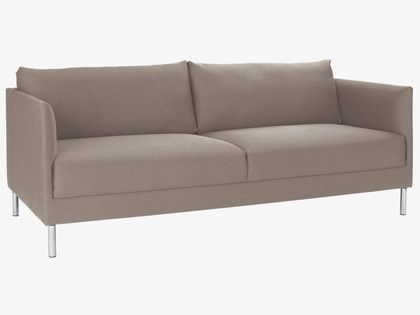 Hyde Sofa 190x85 Cm Sofa 3 Seater Sofa Grey Fabric