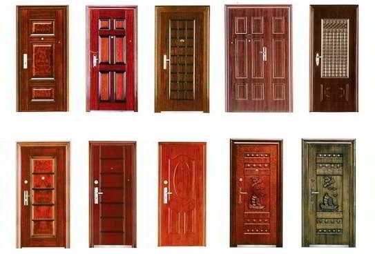 33 Gambar Dan Model Pintu Utama Rumah Minimalis Modern Elegan