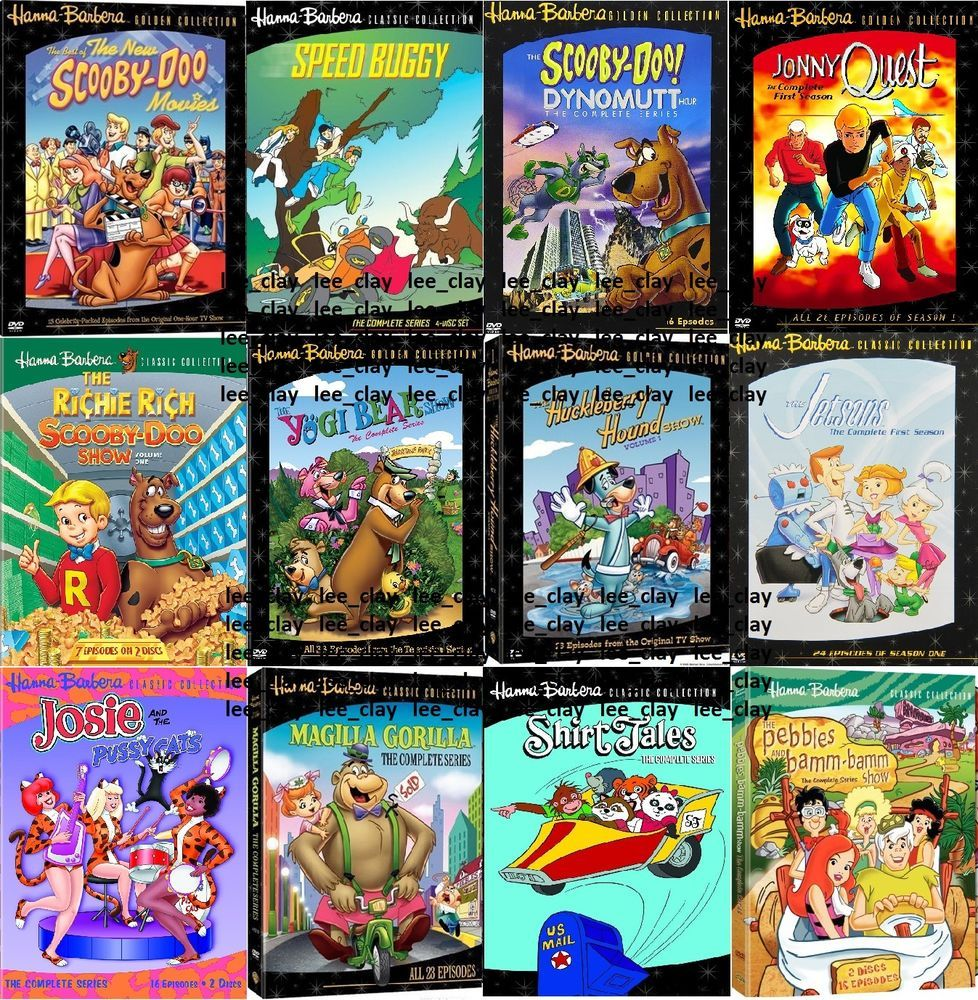 Hanna Barbera Ultimate 12 SET Collection Jonny Quest Scooby Doo Speed Buggy NEW
