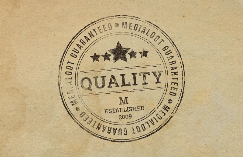 Rubber stamp effect graphic design tools logos design