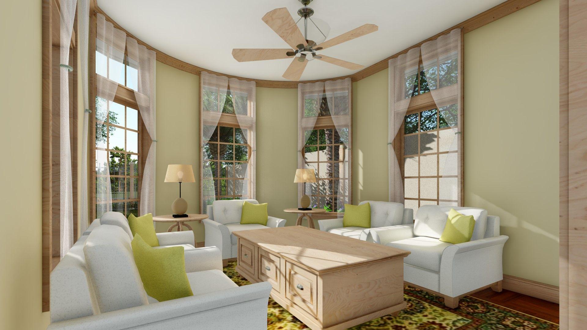 Ruang Tamu Desain Rumah Besar Dengan Kolam Renang Rumah Besar