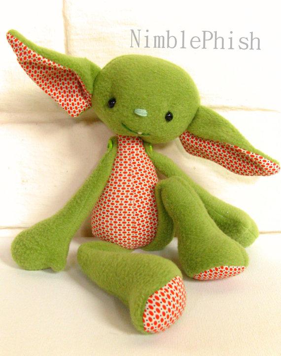 Naughty Little Gremlin PDF Sewing Pattern | stoffpuppen | Pinterest ...