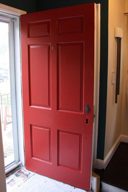 Behr Antique Red For My Front Door