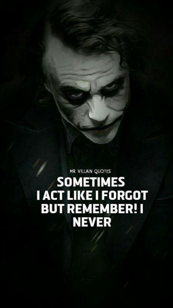 JOKER... Villain quote, Joker quotes, Heath ledger joker