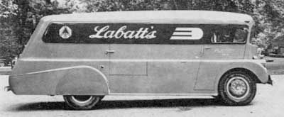 Smith Bros. Body Works, Smith Brothers Motor Bodies, Labatt Streamliners, Toronto, William Smith, Waggons, de Sakhnoffsky, Labatts streamliner - CoachBuilt.com