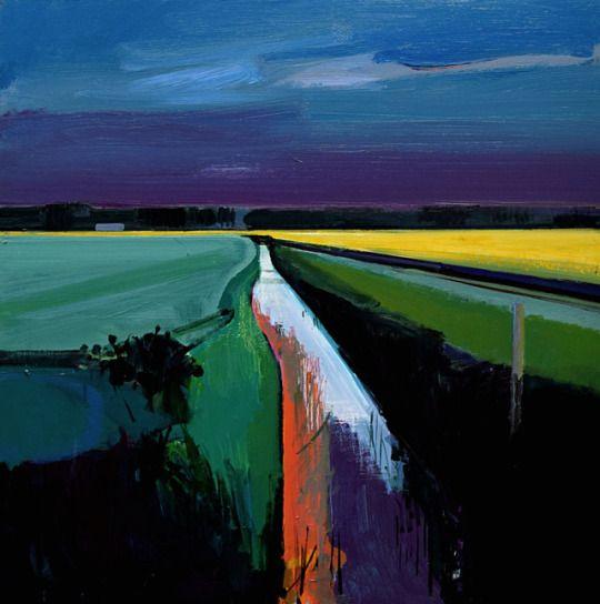 Last Light Feltwell Anchor Norfolk Fens May 2017 Fred Ingrams Abstract Art Landscape Abstract Landscape Landscape Art