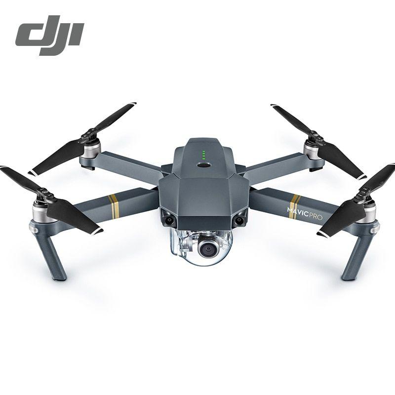 Dji Mavic Pro Fly More Combo Quadcopter 4k Hd Camera 3 Axis Gimbal 7 Km Recording Remote Control 12 Channels Cameria Drones Con Immagini Droni Videocamera Fotocamera