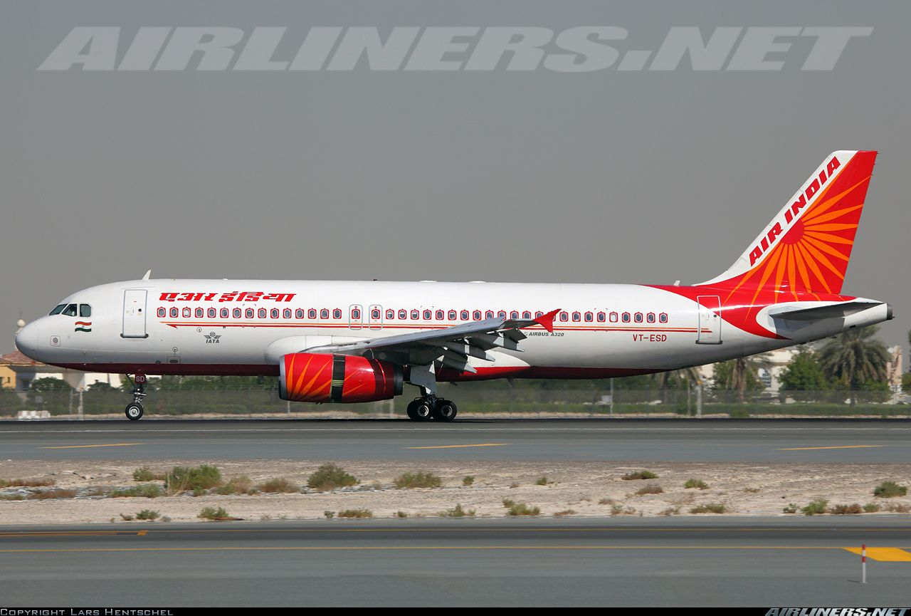 Air India Vt Esd Airbus A320 231 Aircraft Picture Aviao Comercial