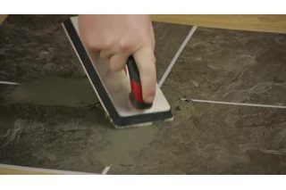 How To Use Peel Stick Tiles On Countertops Hunker Peel And Stick Tile Stick On Tiles Groutable Vinyl Tile