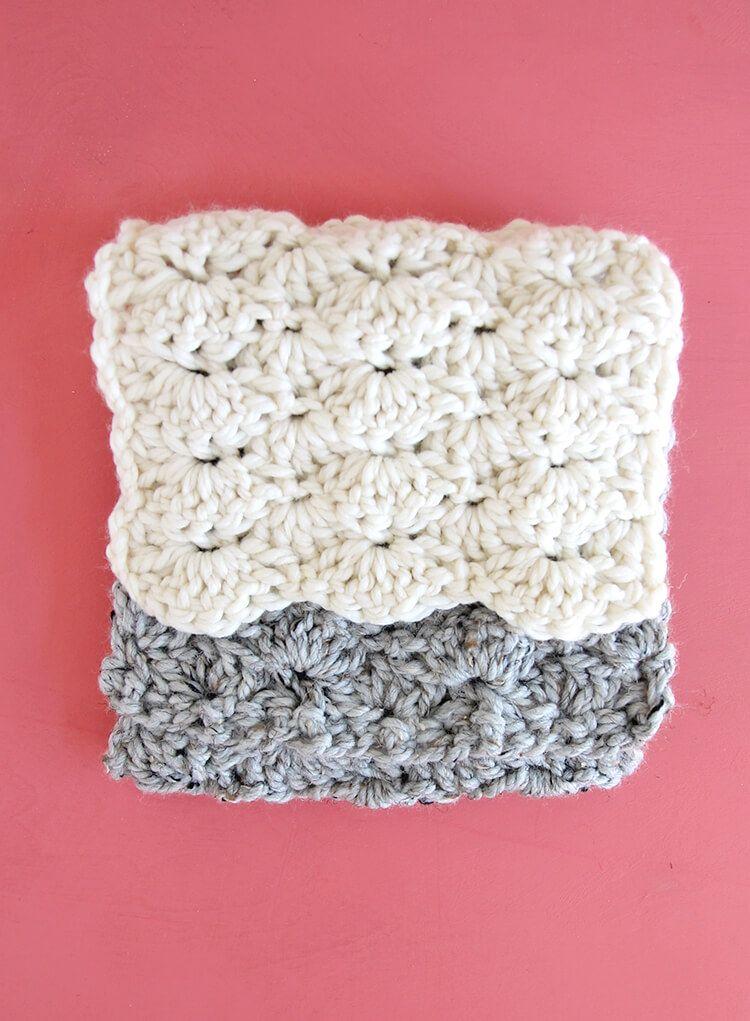 How to Crochet the Shell Stitch for Beginners   Crochet   Pinterest ...