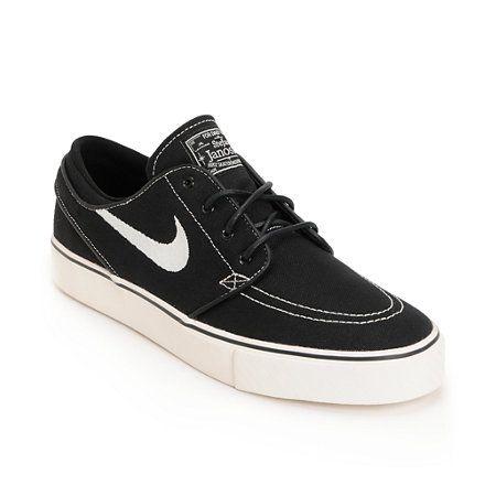 352d07c9c9 Nike SB Zoom Stefan Janoski Black   Sail Shoes