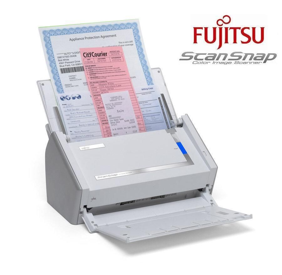 Fujitsu Scansnap S1500m A4 A8 Dokumentenscanner Usb
