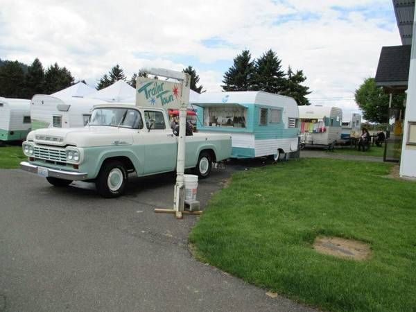 VINTAGE 1963 OASIS TRAVEL TRAILER 15' 7500