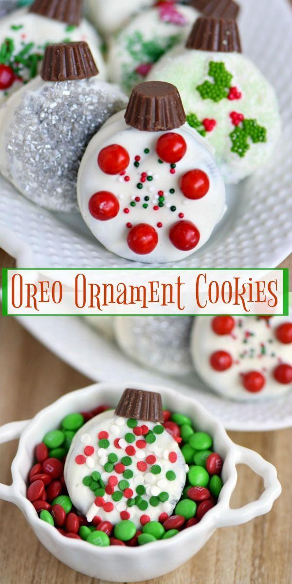 Oreo Ornament Cookies Cookie Swap Christmas Cookies Kids Best