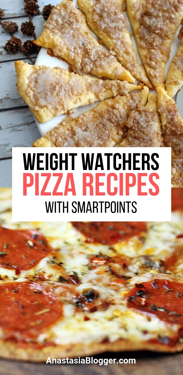 9 Weight Watchers Pizza Recipes with SmartPoints - WW Freestyle images
