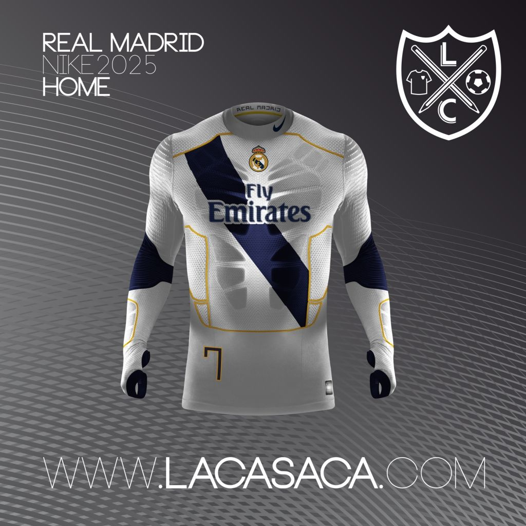 Nike 2025 Fantasy Kits - Real Madrid Home  5655c7c454cbe