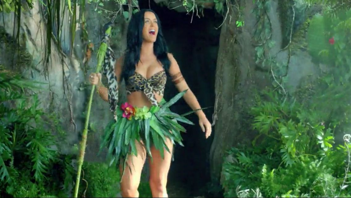 Jungle Girl Costume  Holloween  Katy Perry Music Videos -4712