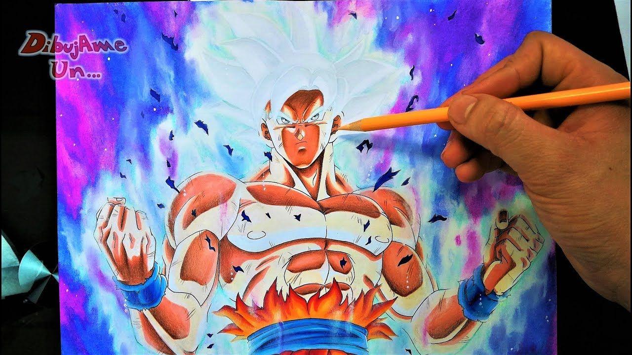 Tutorial Goku Migatte No Gokui Dominado Como Dibujar Ultra Instinto Pe Goku Dibujo De Goku Dragon Ball Z
