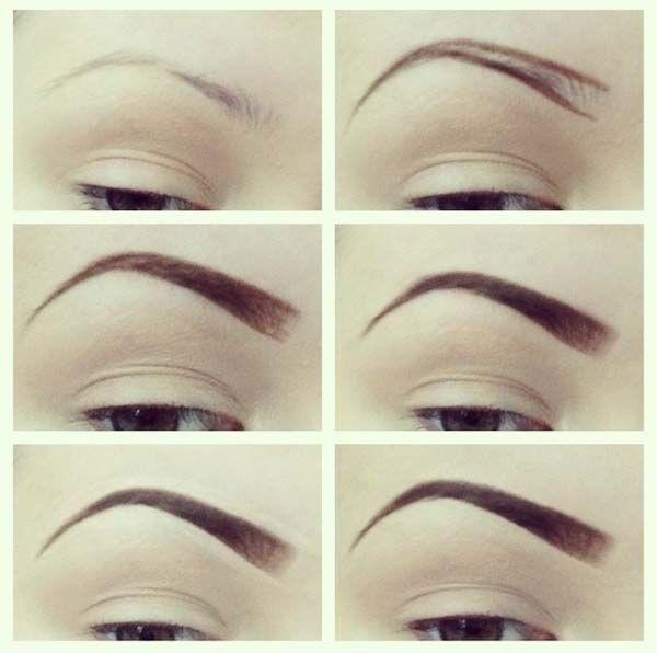Eyebrows Shaping Make Up Pinterest Eyebrow Thin Eyebrows And