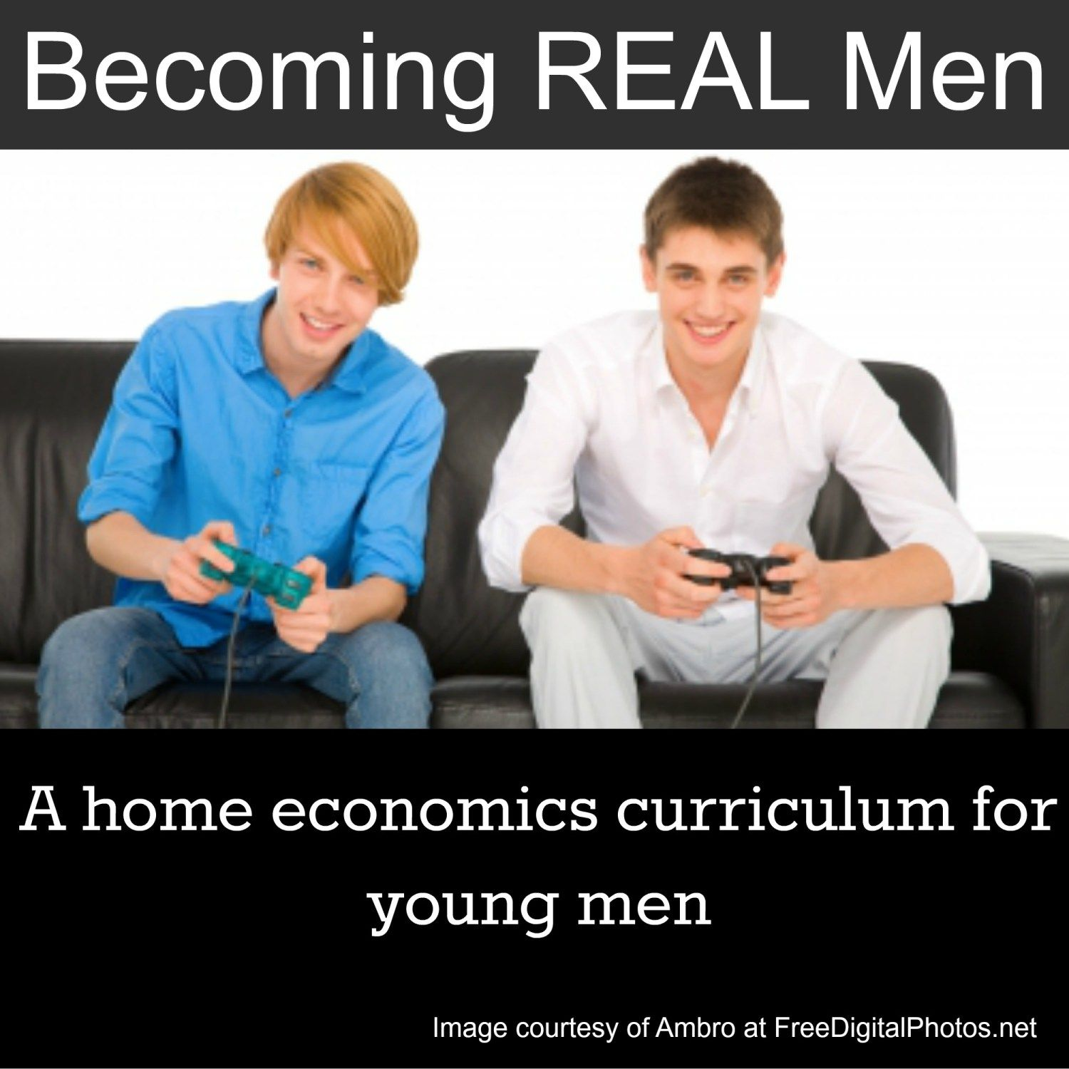 Free Course Home Ec For Boys