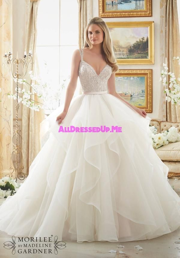 Morilee 2887 All Dressed Up Bridal Gown Weddings Pinterest