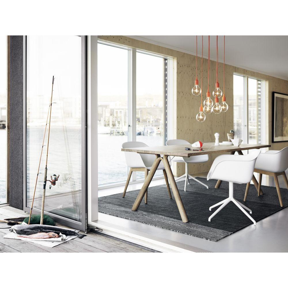 Küchen-designmöbel muuto  e pendelleuchte  zuhause form und küche
