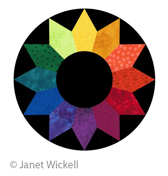 Learn Color Wheel Basics Before You Choose Fabrics For A Quilt What Are Tertiary Colors