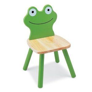 Brilliant Pintoy Wooden Frog Chair Amazon Co Uk Toys Games Machost Co Dining Chair Design Ideas Machostcouk