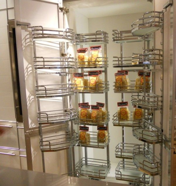 Brilliant Rolling Shelves for Pantry with Concealed European Style ...