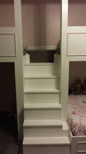 Built In Bunk Bed Stairs Before Carpet Runner Bunk Beds Built In Built In Bunks Bed Stairs
