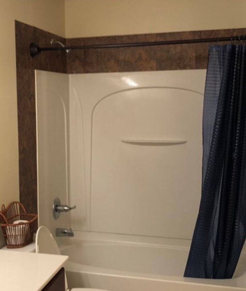 Tiling Around Fiberglass Shower Enclosure With Images