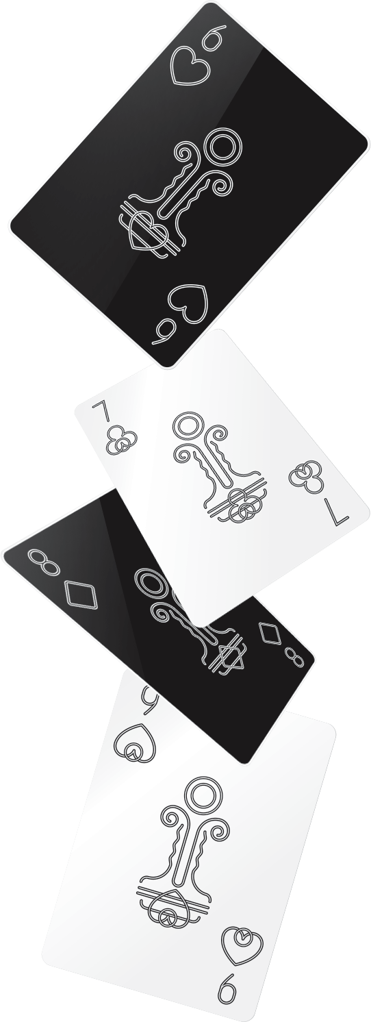 Bēhance Chess Playing Cards by Yurii Horbachevskyi