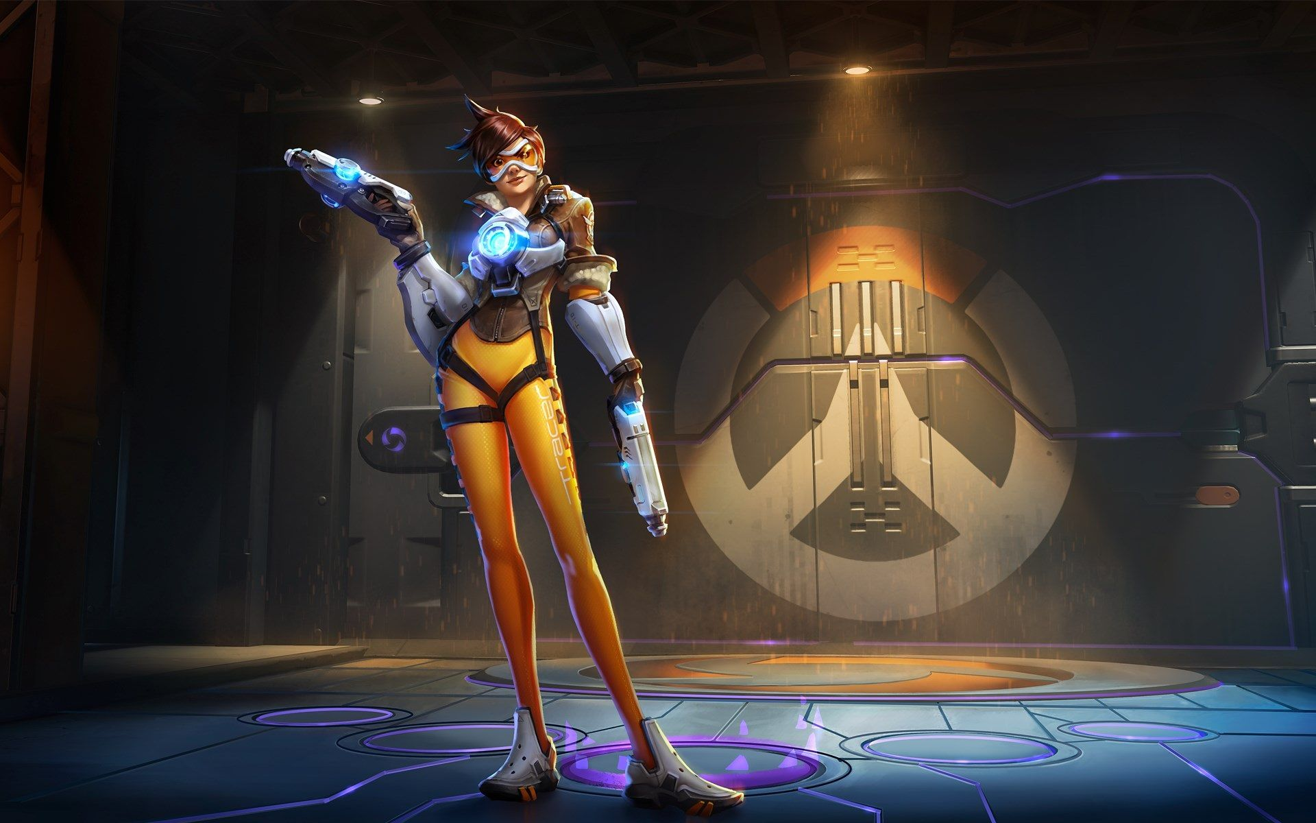 1920x1200 Tracer Beautiful Wallpapers Overwatch Tracer Tracer Art Storm Wallpaper