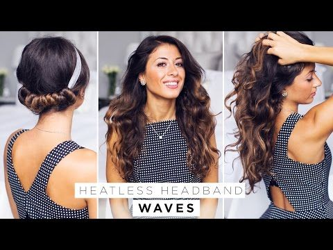 Sick Of Having To Manage Your Hair With Heat Styling Tools Every Morning Try Out One Of These 5 Overnight Hairstyle Heatless Curls Headband Curls Hair Styles