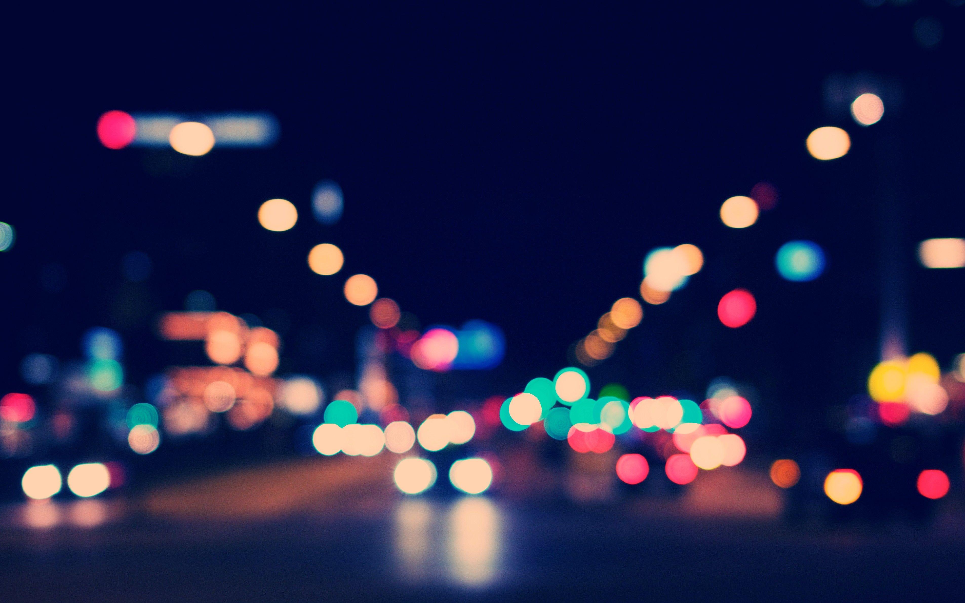 City Lights Bokeh Wallpaper Bokeh Photography