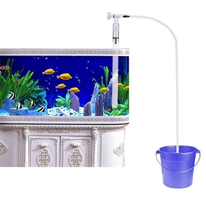 6 86 Home Aquarium Vacuum Water Changer Gravel Cleaner Fantastic Fish Tank Siphon Ebay Home Garden Fish Tank Gravel Cleaning Fish Fish Tank