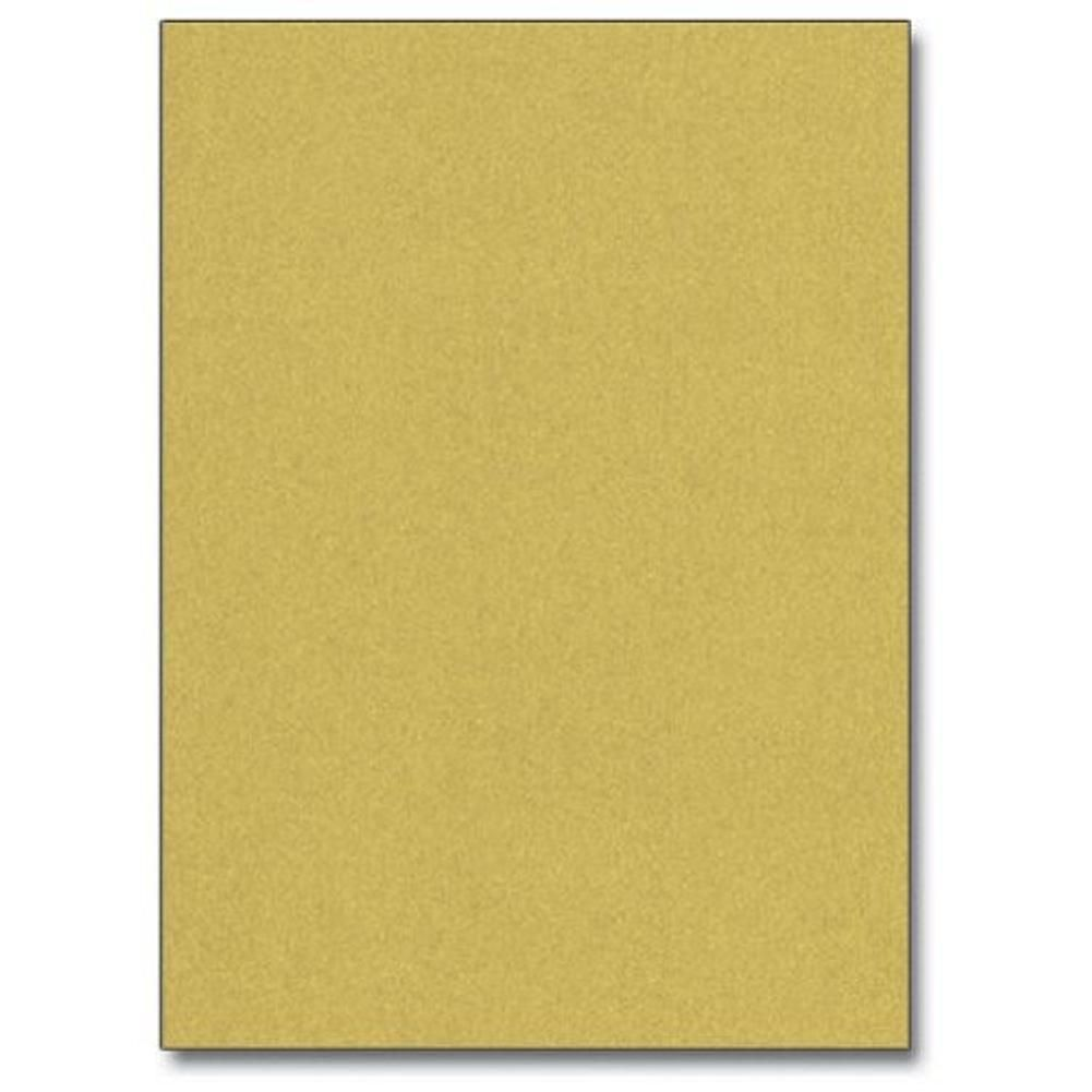 Super Gold Metallic Letterhead Sheets Metal Metallic Paper Gold