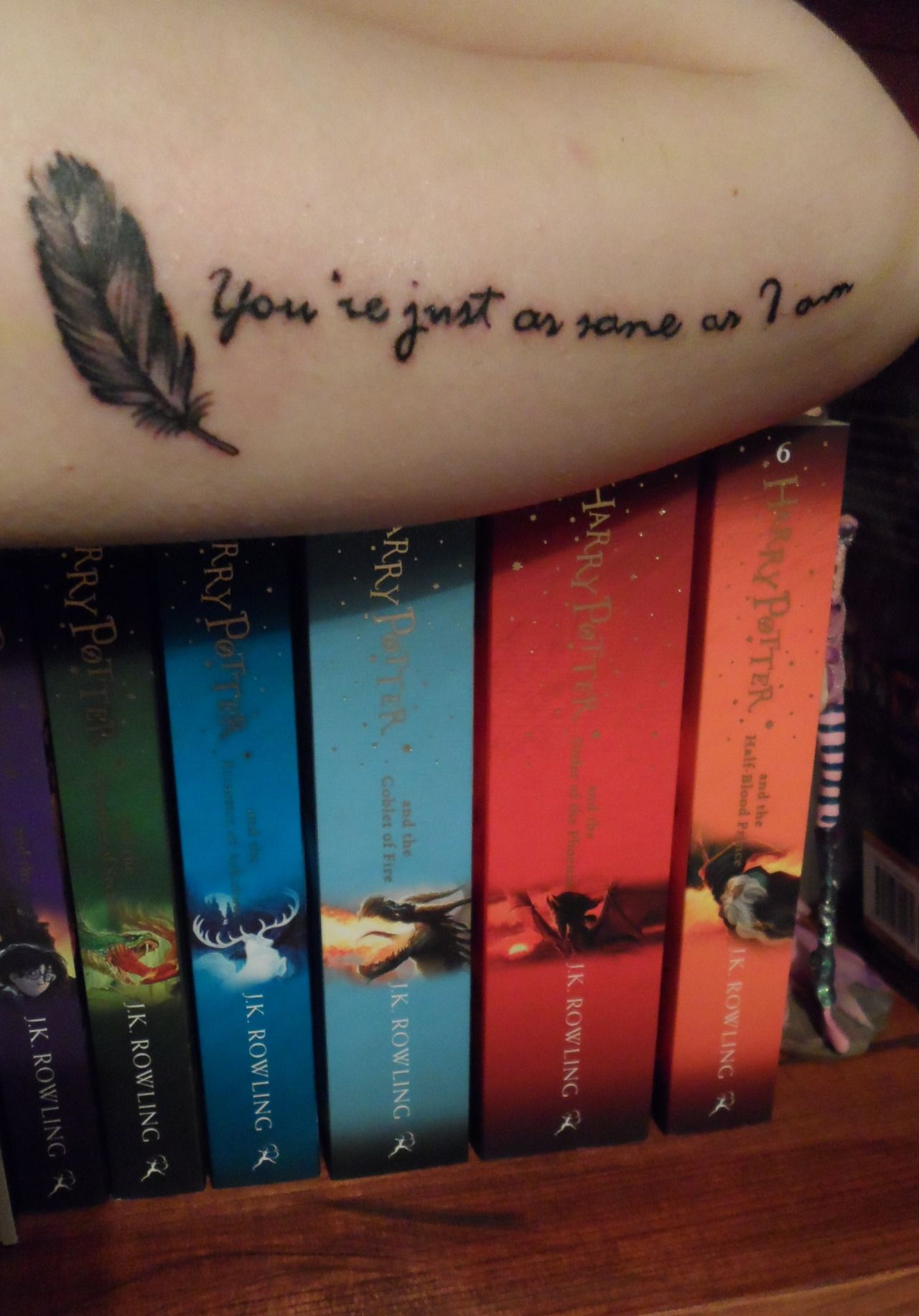 Bloodyhellhptattoos Harry Potter Tattoos Tattoos Harry Potter Tumblr