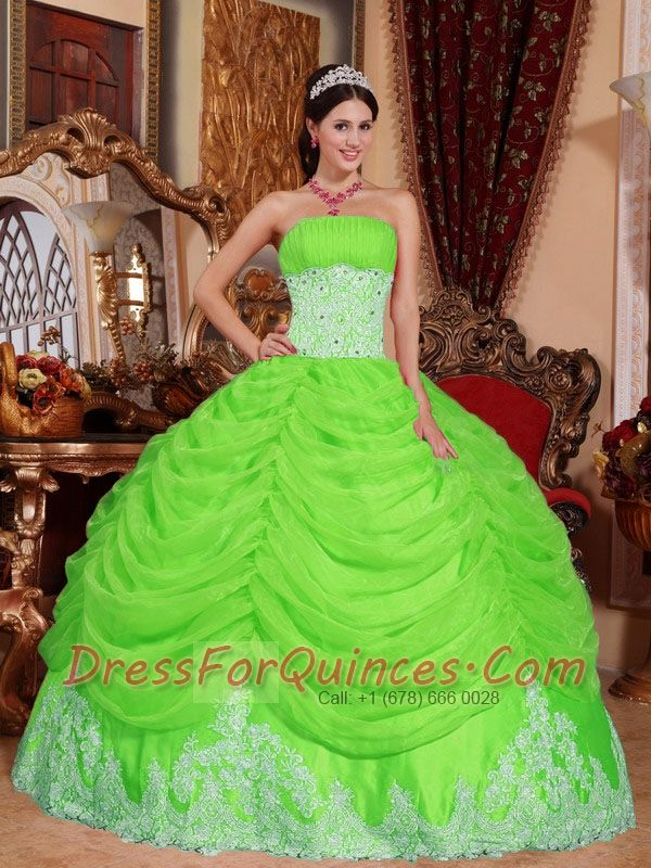 Spring Green Prom Dresses 2015