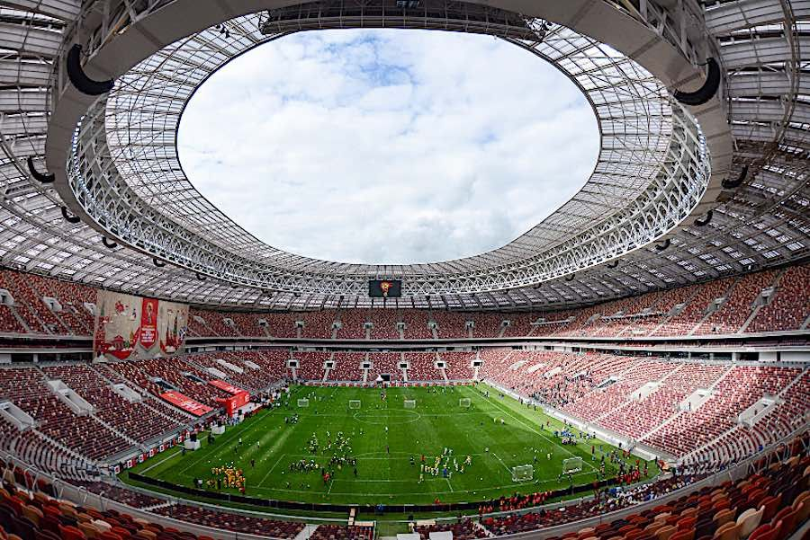 World Cup 2018 5 Stadiums Hosting Games Across Russia Stadi Di Calcio Coppa Del Mondo 2018 Mondiali