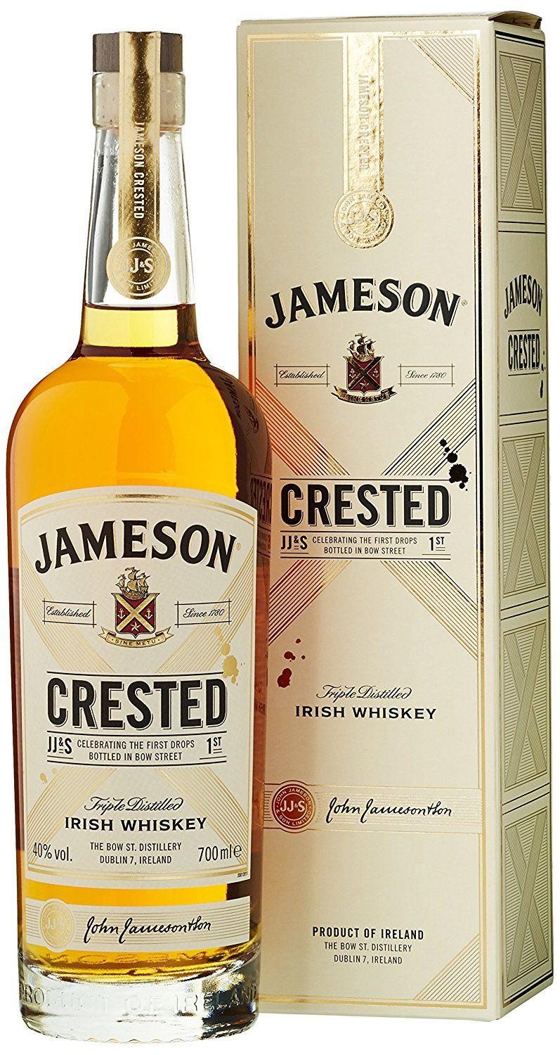 Spirituosen Wein Jameson Crested Ten Blended Irish Whisky 1 X 7 L Amazon De