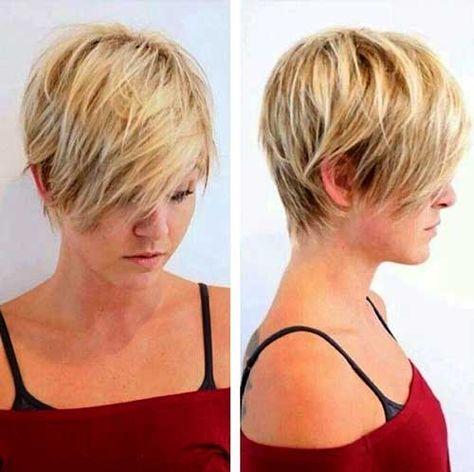 Women\'s Short Hairstyles for Thin Hair | Thin hair, Short ...