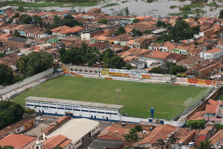Estádio Zinho de Oliveira - Marabá (PA) - Capacidade: 4,5 mil - Clubes: Águia e Gavião