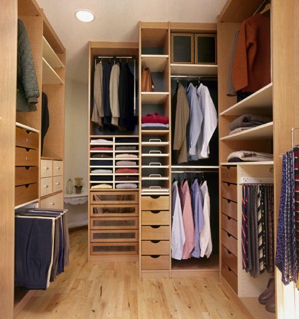 Der Ankleideraum – Perfekte Organisation für jedes Haus ...